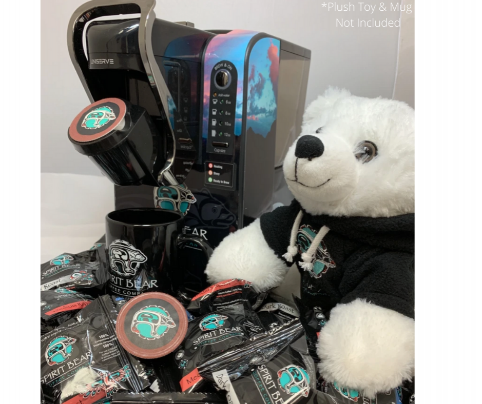 Spirit Bear Coffee Co. - Large Office Package